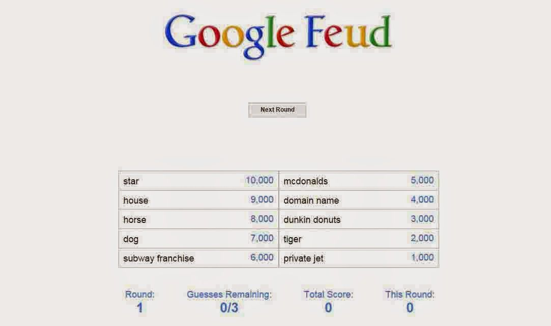 this game is google feud