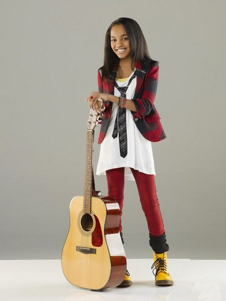 I know it's a super cheesy Disney show      But China McClain's