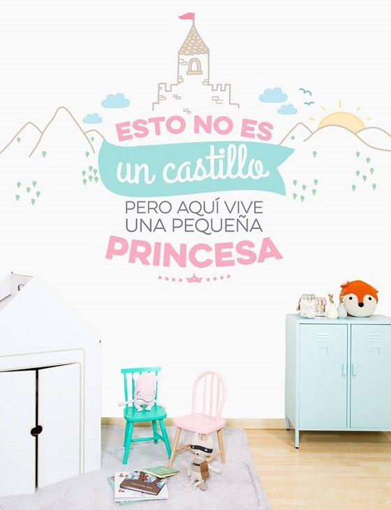 Murales habitaciones ni as dise ados por mr wonderful http for Vinilo para dormitorio adultos