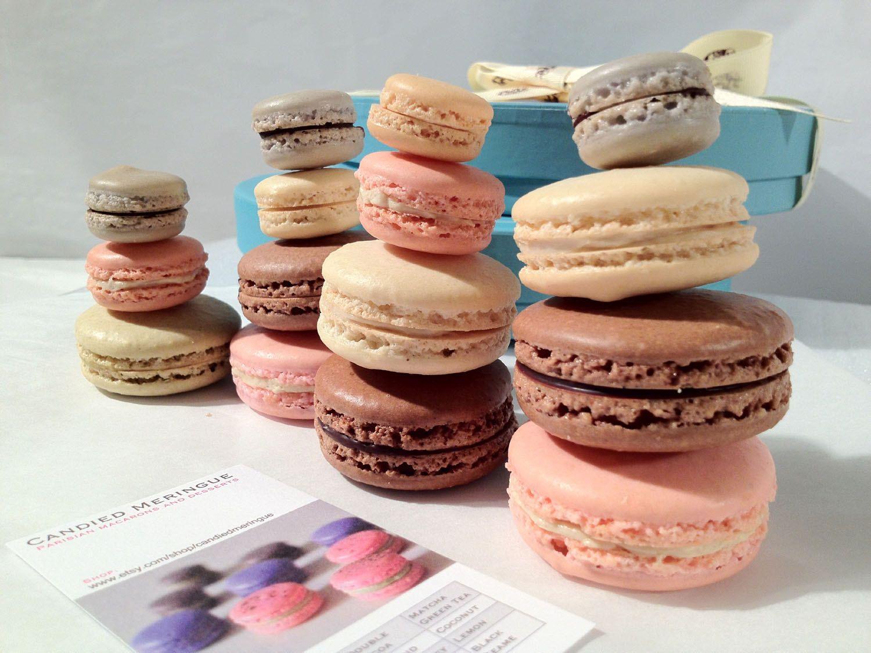 30 pc assorted parisian macaron giftbox 3900 via