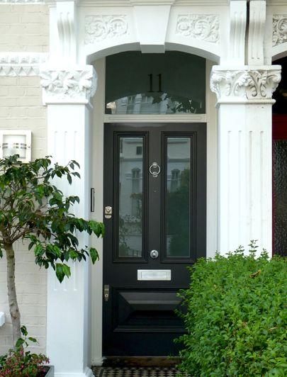 London Doors, Front Door, Victorian / Edwardian Door   92 Kenyon ...