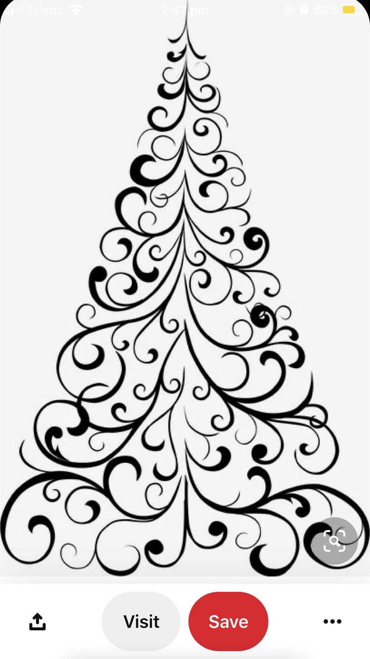 Pin By Raquel On Projects In 2020 Christmas Tree Stencil Christmas Tree Drawing Christmas Tree Coloring Page