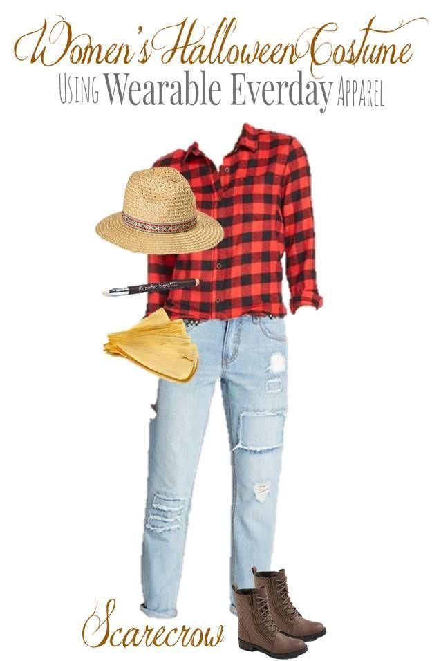 DIY Scarecrow Costume Using Everyday Clothes! #scarecrowcostumediy