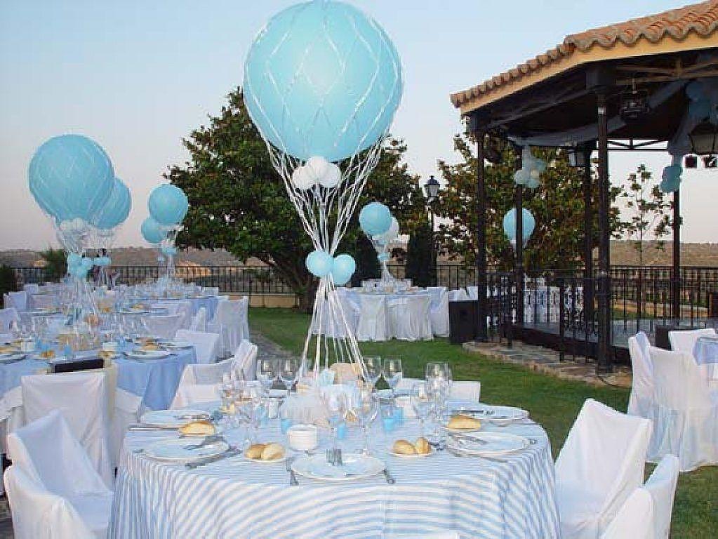 Ideas para decorar el comedor para el bautizo de un varon for Ideas para decorar un comedor