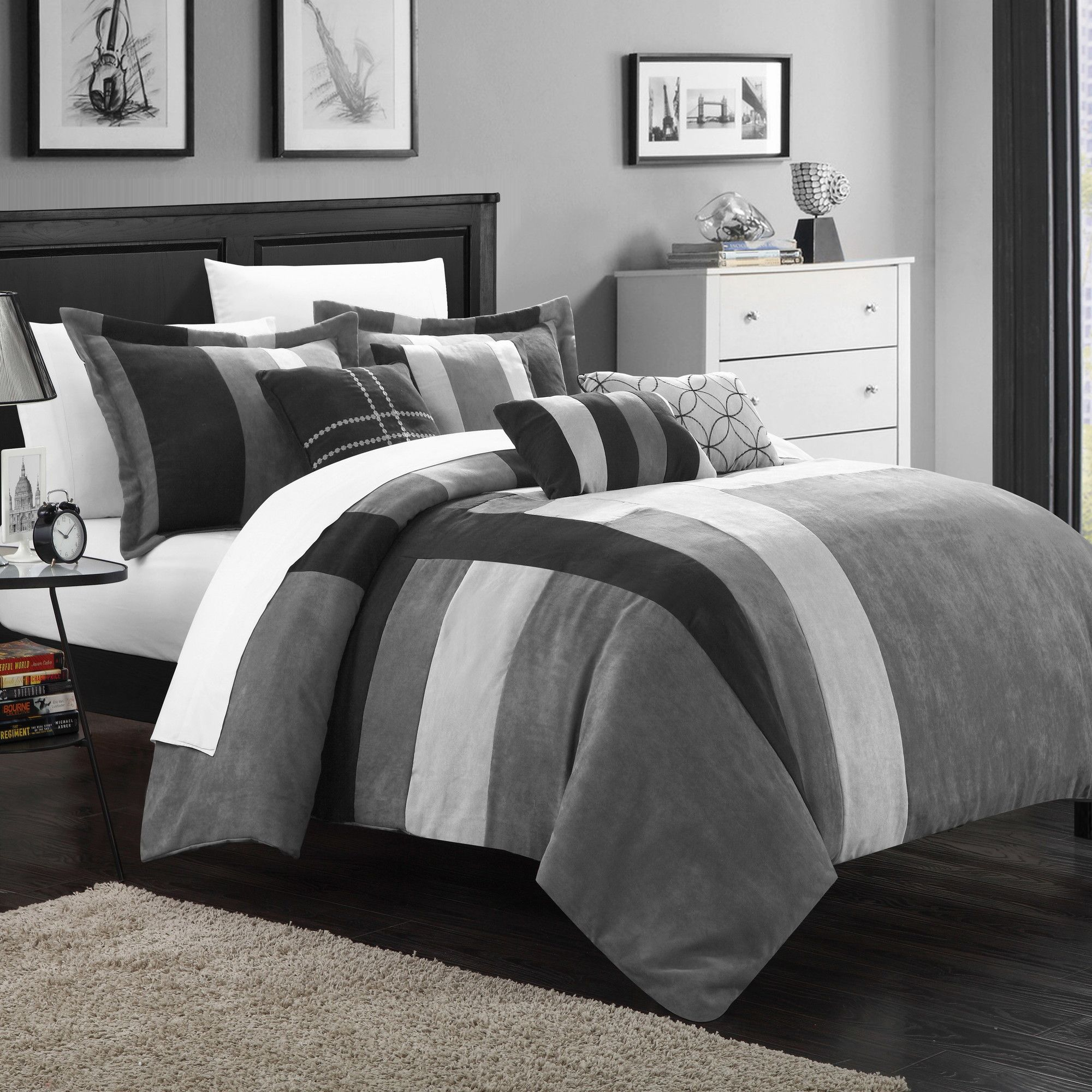 Chic Home Regina 7 Piece Comforter Set U0026 Reviews | Wayfair