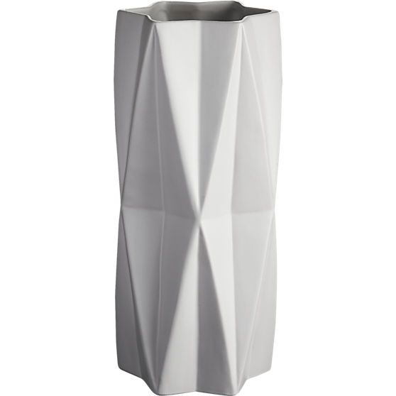 Sleek Modern Vases Designed With A Minimalist Aesthetic Cb2