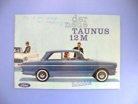 Prospekt Ford Taunus 12M