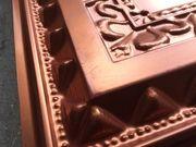 Lot 139 - #210 Faux Copper Tiles - 24x24 - 16 pcs - 64 sqft