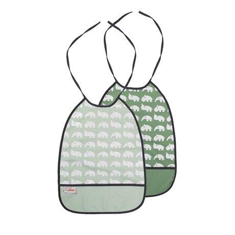 2 Pak Hagesmække - Green