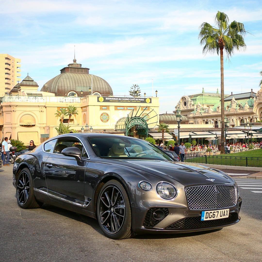 The New Bentley Continental Gt In Platinum Bentley David Watson