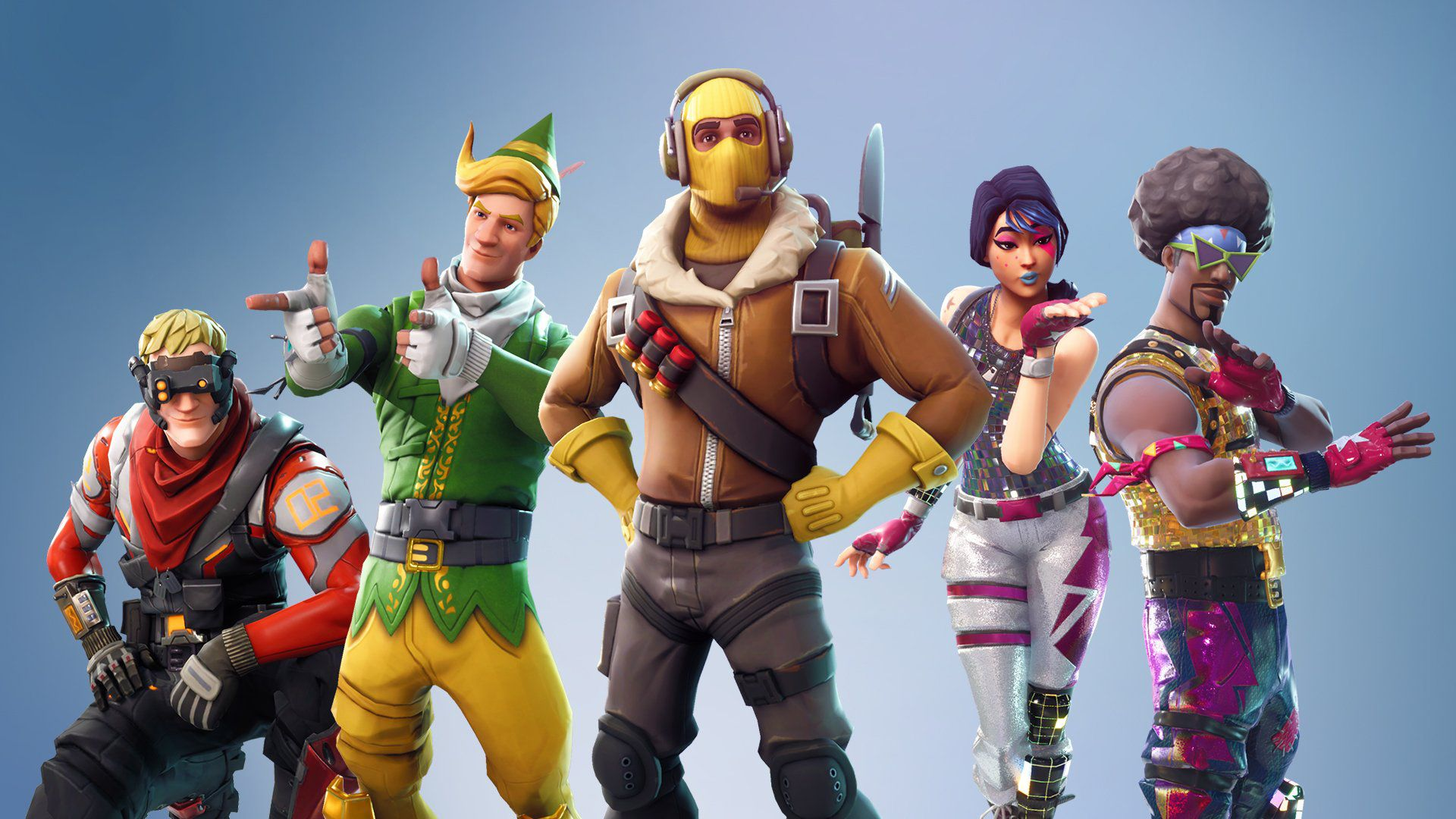Video Game Fortnite Hd Group Wallpaper Best Gaming Wallpapers