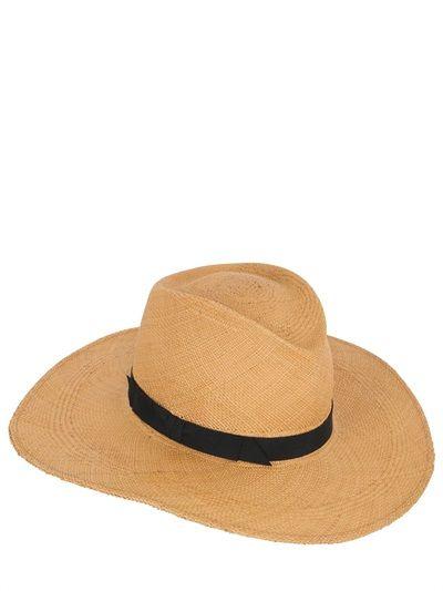 78e265ca993c4 GLADYS TAMEZ MILLINERY - THE JACKIE O PANAMA STRAW HAT