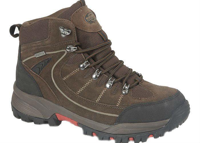 34c0c23923c Mens New Brown Black Leather Northwest Territory Walking Hiking ...