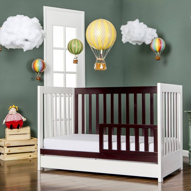 Save this to find 6 modern baby cribs that won't break the ...