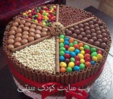 کیک تولد تزیین