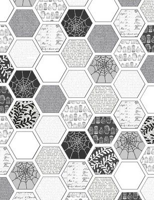 picture relating to Printable Hex Paper identified as Mel Stampz: Hexagon electronic paper template hex. paper