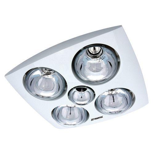 Martec Contour 4 Heat 3 In 1 Bathroom Heater Fan And Light In White Bathroom Light Fittings Bathroom Heat Lamp Bathroom Light Fixtures