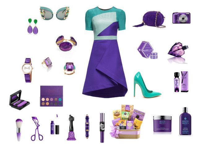"""""""Purple and elegant"""" by rossperdicita ❤ liked on Polyvore featuring Lattori, Chanel, Dolce&Gabbana, Bourbon and Boweties, Ross-Simons, Madyha Farooqui, Hermès, GlamGlow, Diesel and Yves Saint Laurent"""