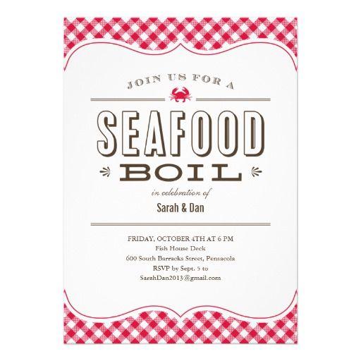 Seafood boil invitations seafood boil pinterest seafood boil seafood boil invitations stopboris Images