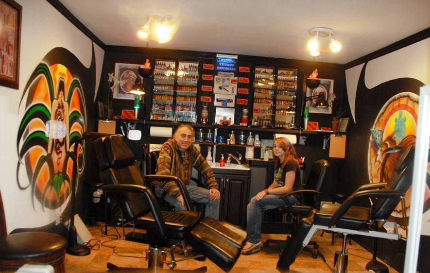 Our tattoo shop in crossville tn tattoos by joe byron for Tattoo shops in tennessee