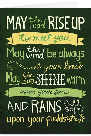 """""""...and until we meet again, may God hold you in the palm of his hand."""" Our principal would say this prayer every day in elementary school before dismissal for the day. Still one of my favorites!"""