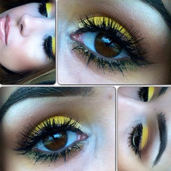 Try a pop of yellow when feeling adventurous. It's good to step out of your comfort zone