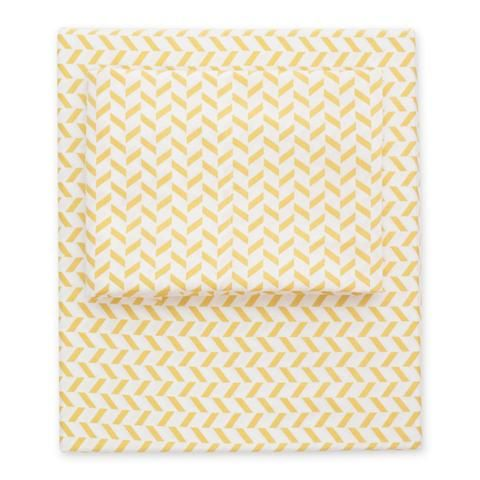 bedroom inspiration and bedding decor the yellow herringbone sheet sets crane and canopy - Yellow Canopy Decor