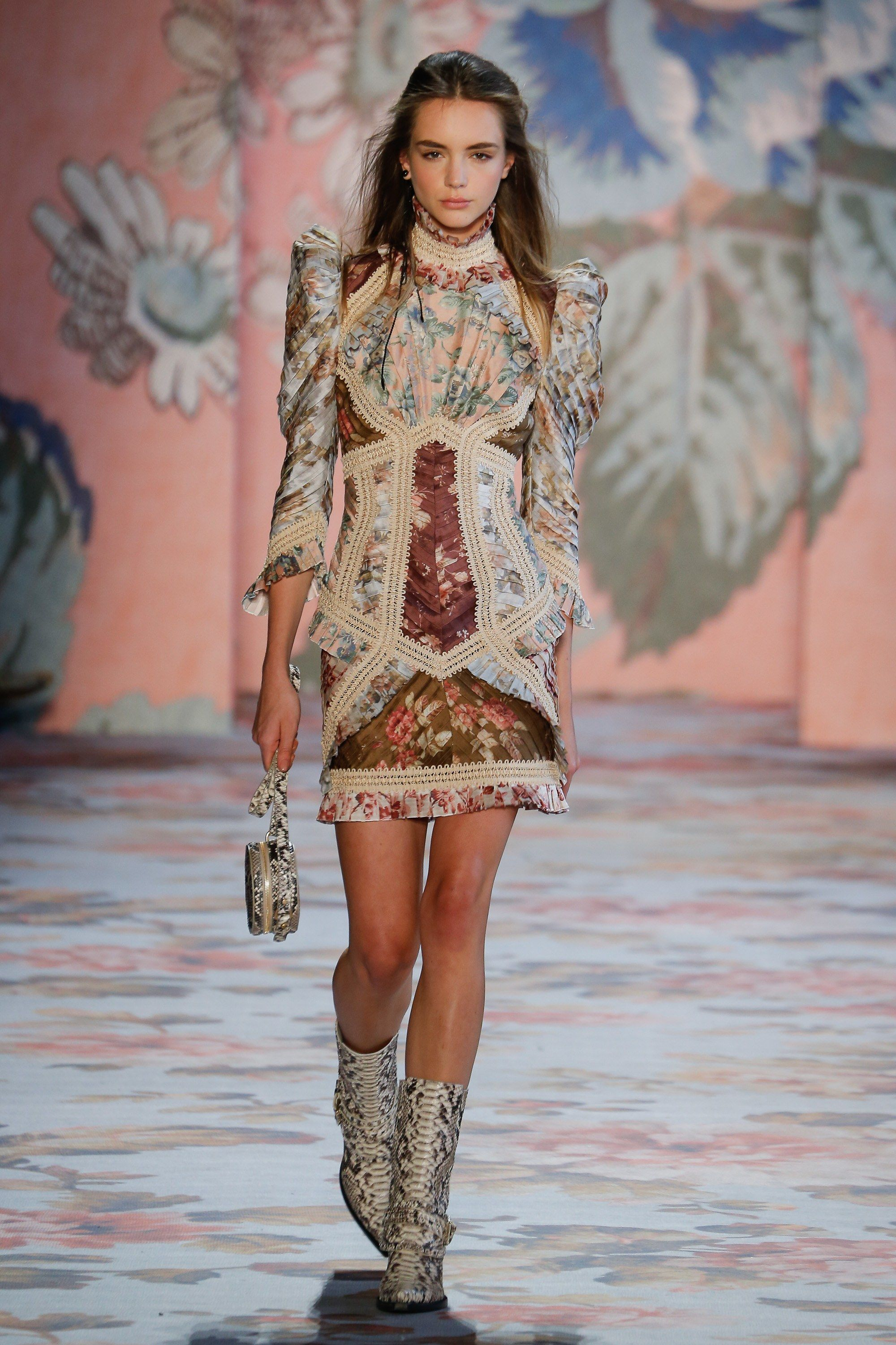 Zimmermann fall readytowear fashion show collection