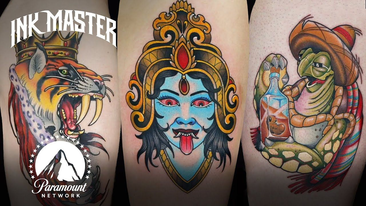 Best Tattoos of Ink Master (Season 11) in 2020 Ink