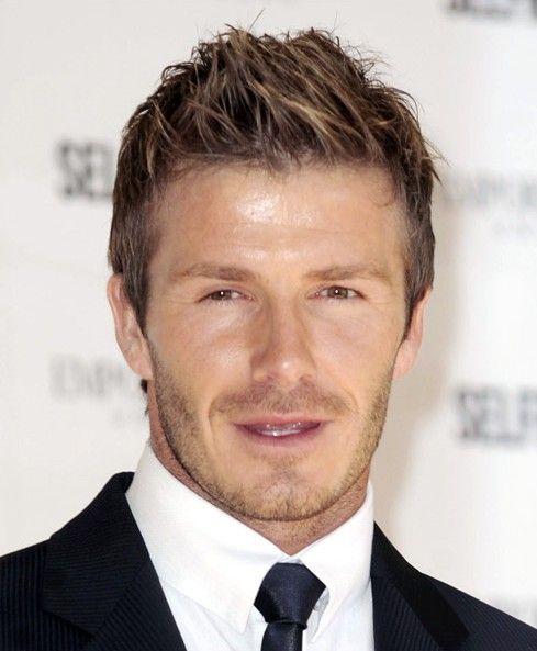 Penteado para noivos David Beckham