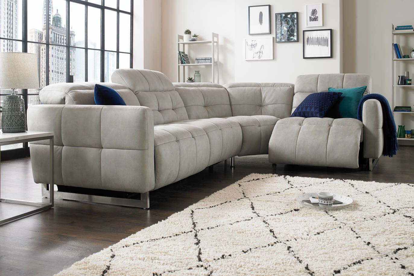 Marmont Sofology Classy Living Room Sofa Front Room