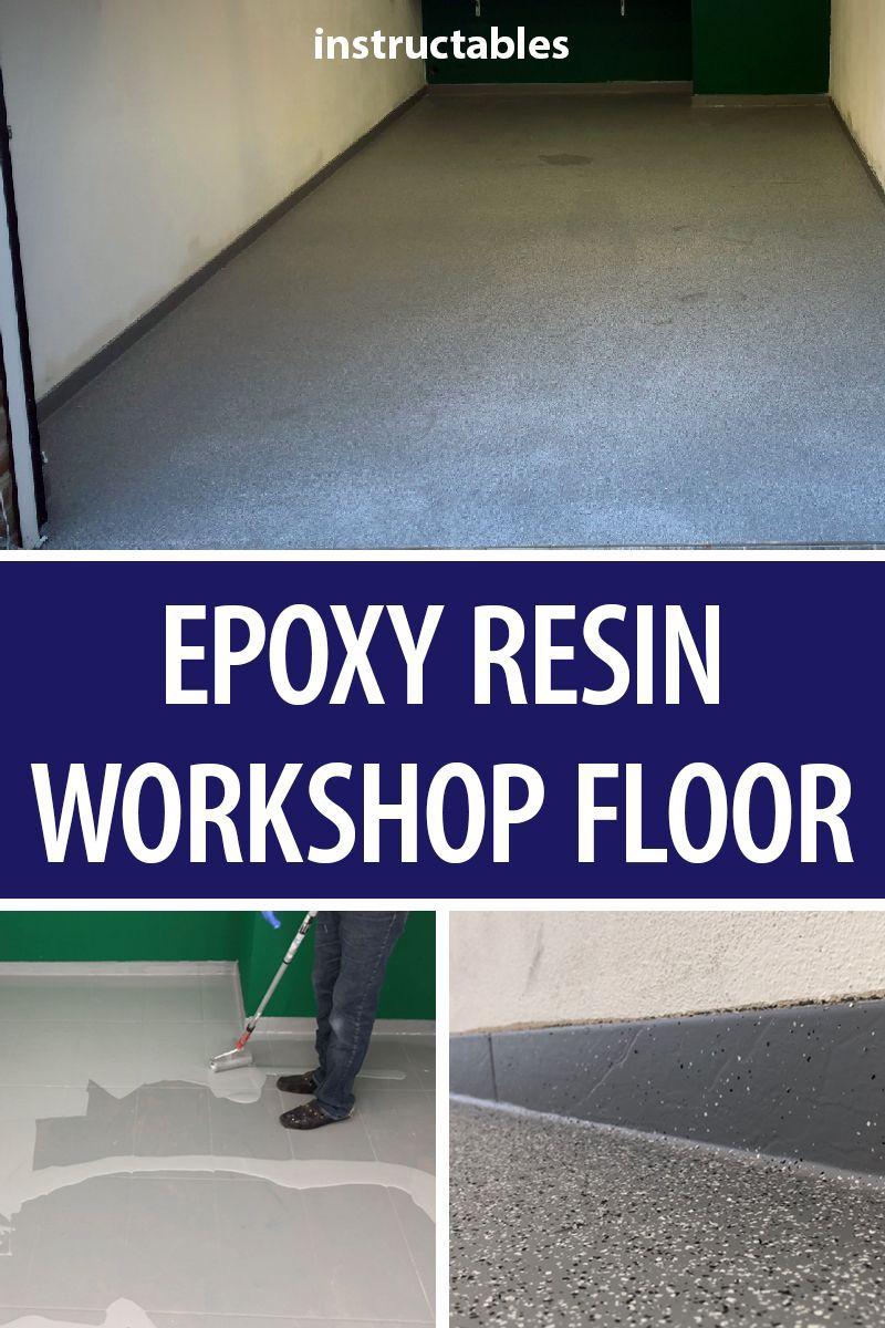 epoxy resin workshop floor | workshop projects | garage
