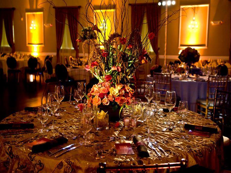 Wedding Reception at The Hamilton Manor