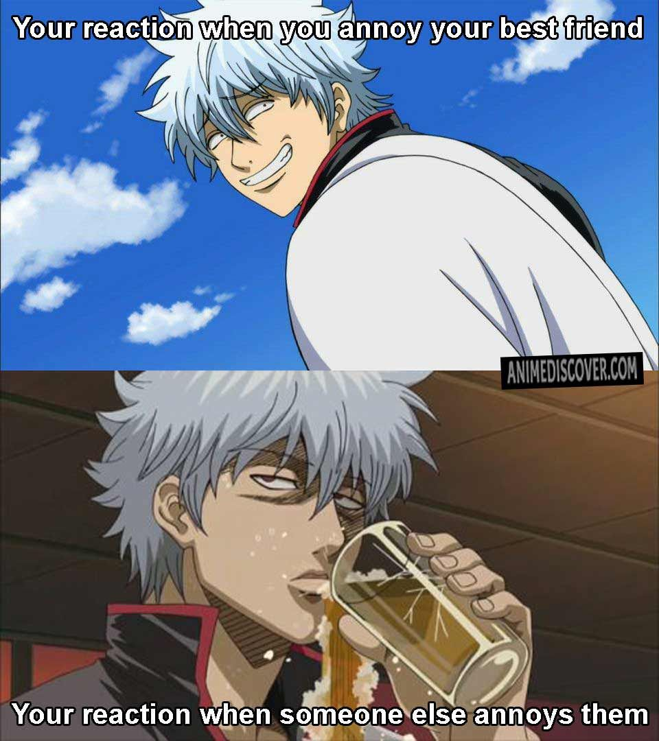 Gintama Anime Anime Funny Anime Friendship