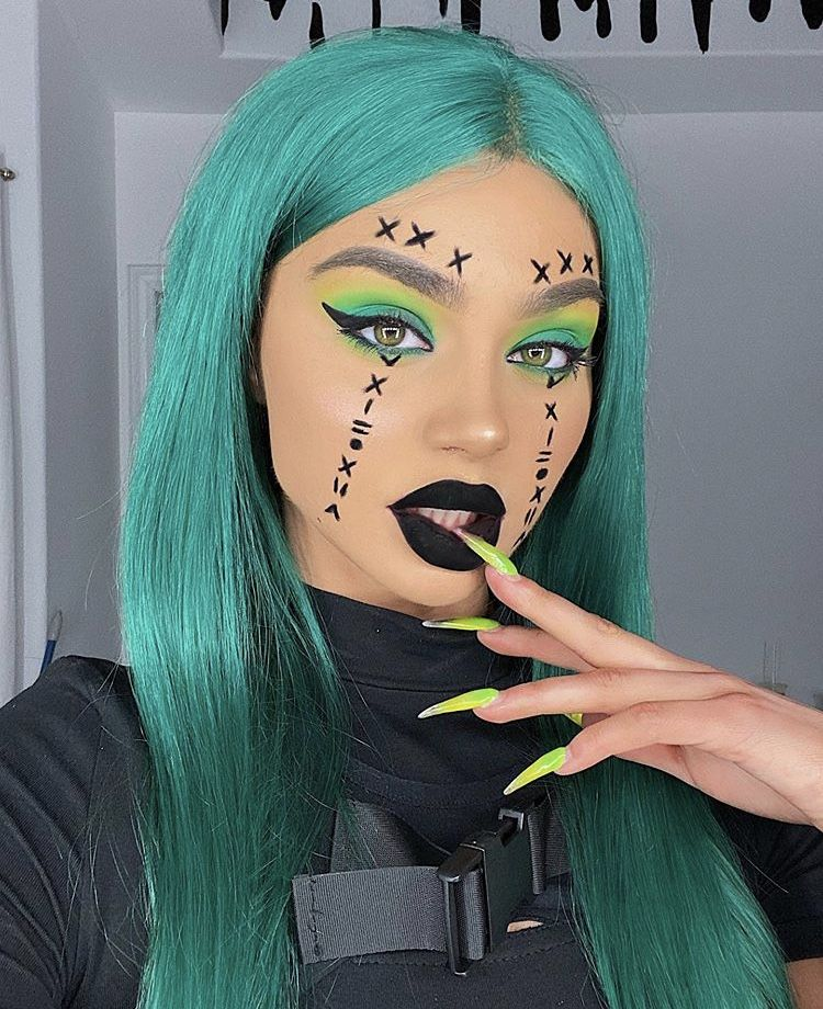 Pin by X.iiv on My Halloween Makeup, Remove makeup from