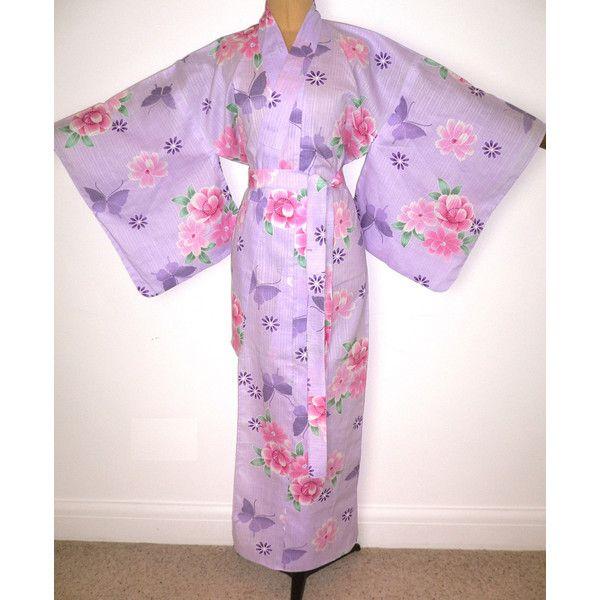 a869e7feb5 New Japanese Authentic Yukata Cotton Kimono Robe Dressing Gown... ( 56) ❤