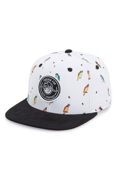 Neff Bird Jobs Snapback Cap Boys Nordstrom Hats For Men Snapback Boys Accessories