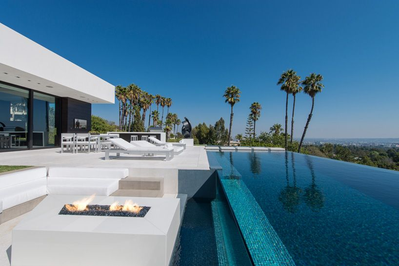 Image result for modern house with infinity pools