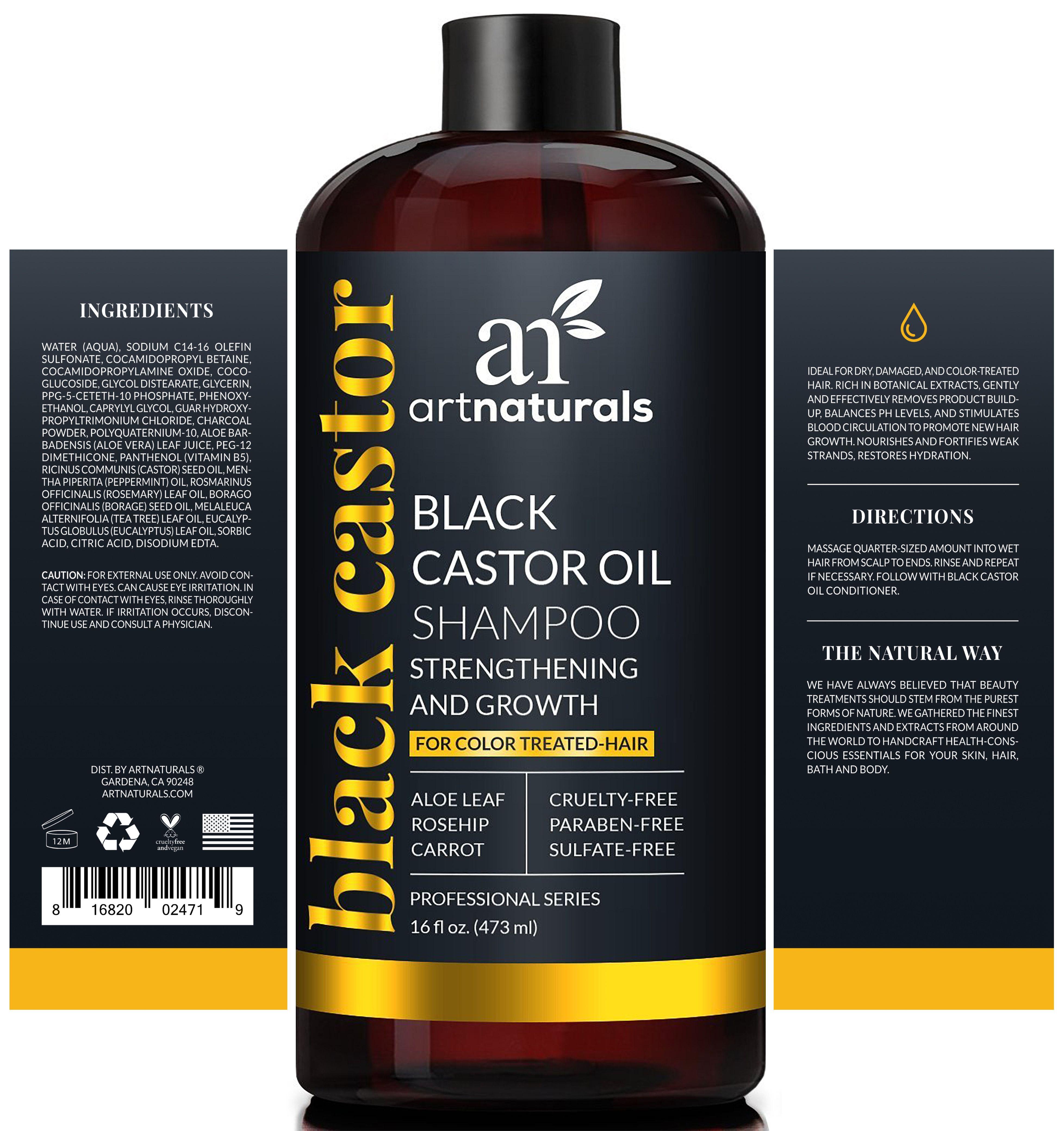 Beauty Castor oil shampoo, Oil shampoo, Shampoo
