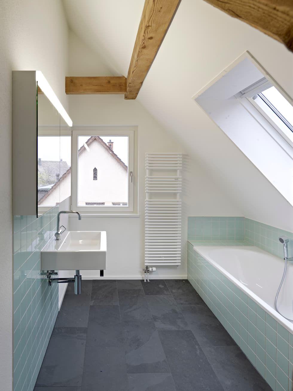 Badezimmer Dachgeschosswohnung Moderne Badezimmer Von