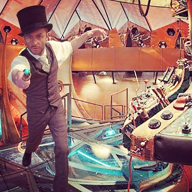 Chris Hardwick as Steampunk Doctor Who