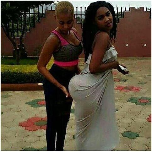 Big booty black lesbian girls