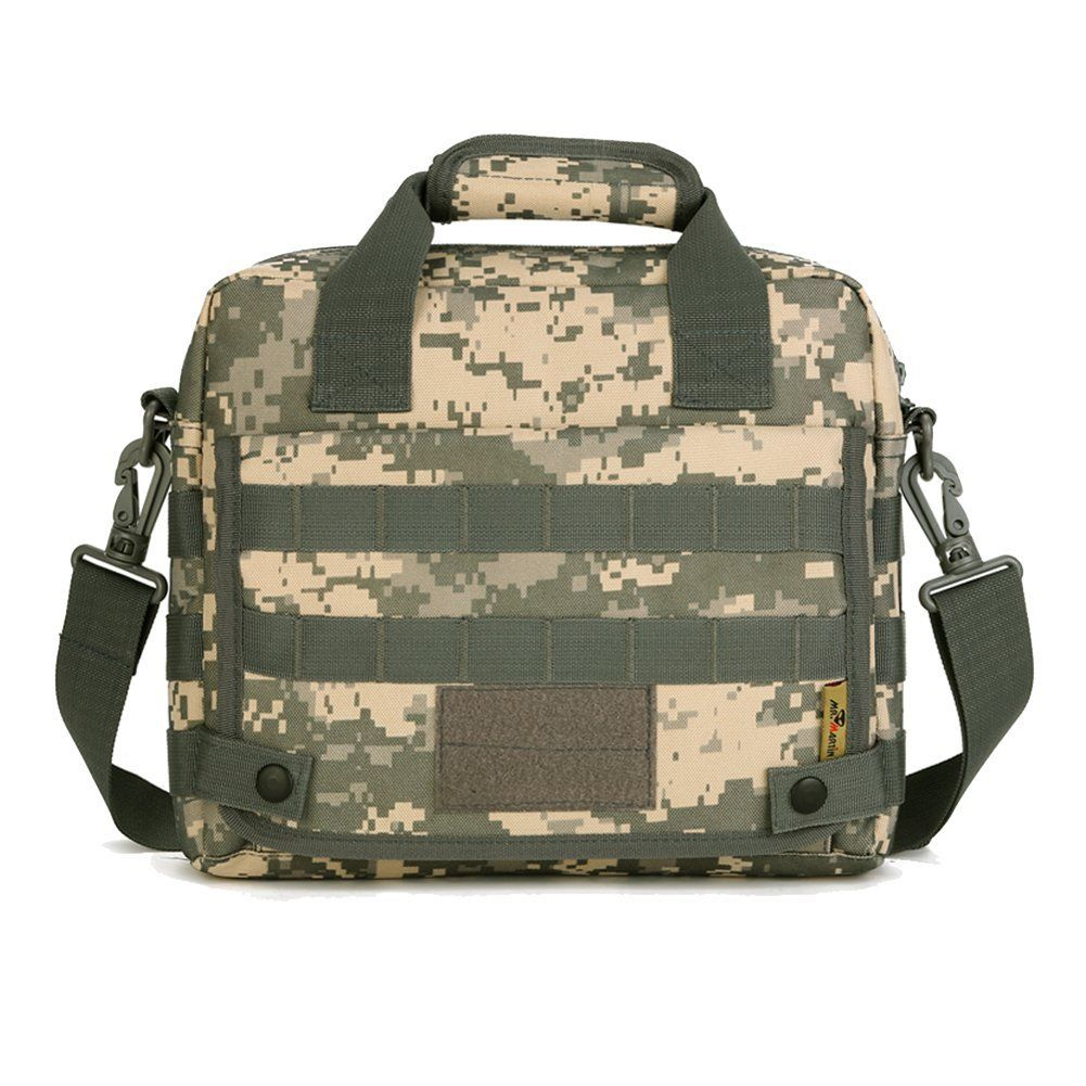Shoulder Bag Messenger Handbag Tactical Molle Pouch Small Crossbody Bag  Outdoor Versatile Daypack for Man Women   Check out this great product. 00c4b920bf