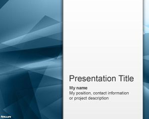 Free blue abstraction powerpoint template free powerpoint free blue abstraction powerpoint template free powerpoint templates toneelgroepblik Images