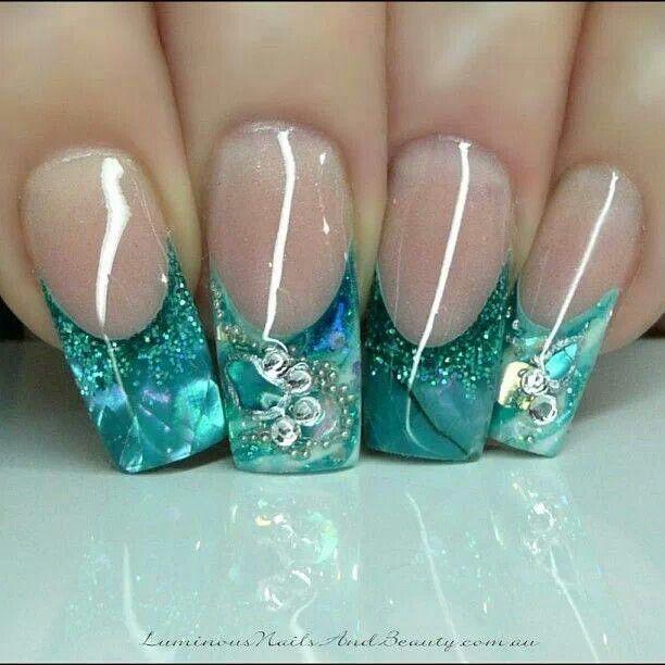 31 Unique Nail Art - 31 Unique Nail Art Nails Pinterest Aqua Nails, Winter Nail Art