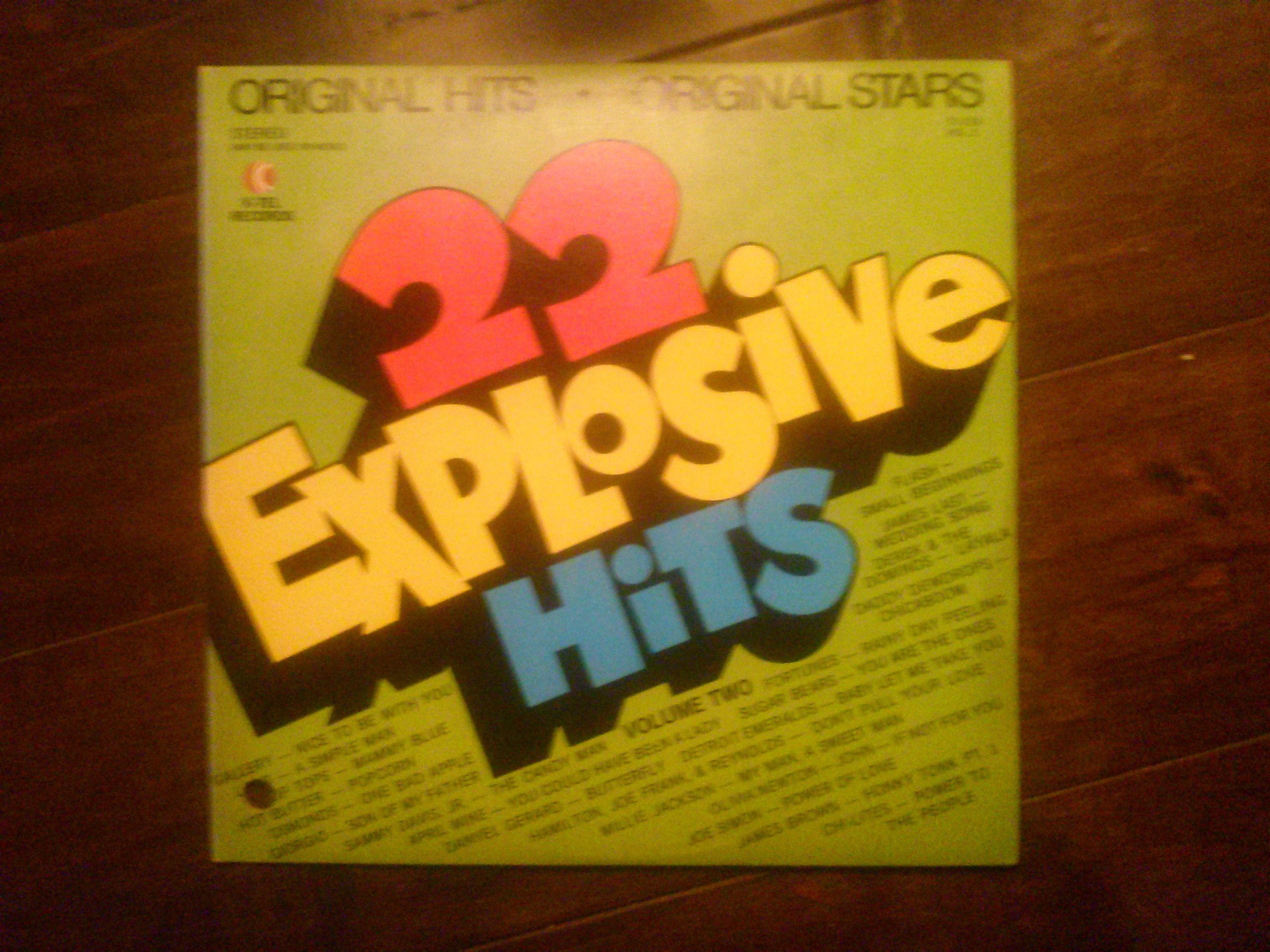 1972 K Tel Records 22 Explosive Hits Vinyl Original Hits Stars Childhood Memories Memories Online Vintage