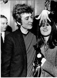 Bob Dylan and Cathy McGowan 1965