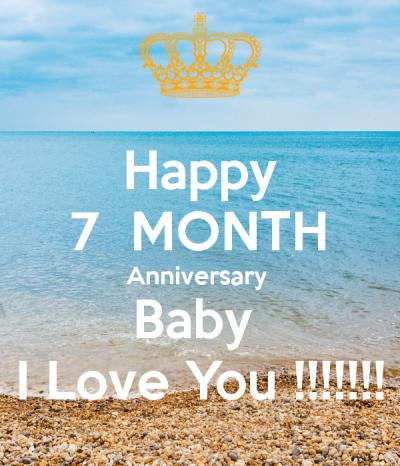 Happy 7 MONTH Anniversary Baby i love u so much n i missed