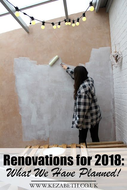 With another year out the way, we're planning the next stages of our renovations and what we hope to achieve in the next 12 months. Check out the post here! | www.kezzabeth.co.uk | #diyrenovation #homeimprovement #homerenovation #renovation #diyblog #renovationblog