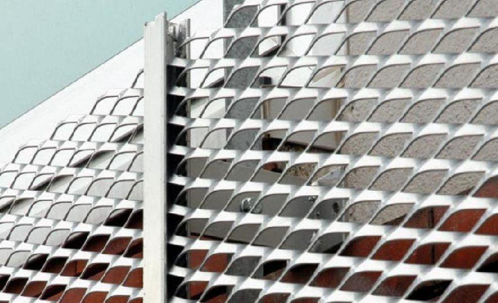 Lamiera stirata fences pinterest for Rete stirata prezzo